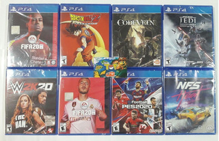 Ps4 Fifa 20, Db Kakarot , Code Vein , Star War - Tiendatopmk