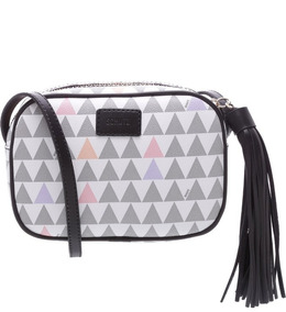 Baby Crossbody Triangle Pearl. Bolsa Schutz Original