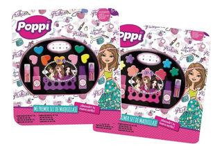 Set De Maquillaje Infantil Poppi Mi Primer Set Grande Pc