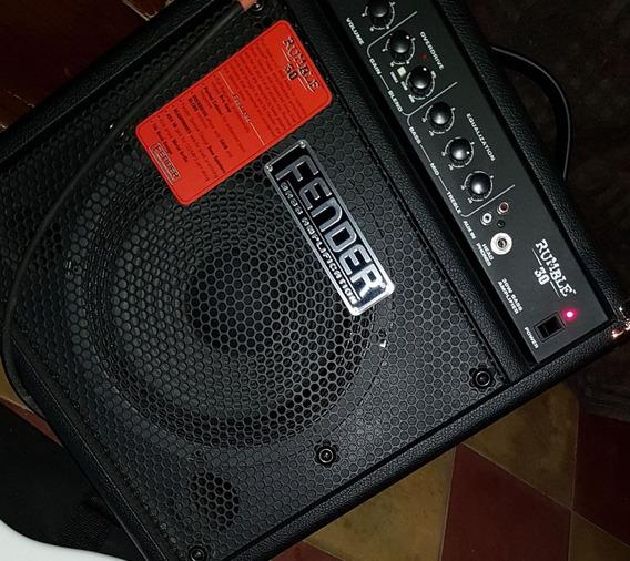 Amplificador De Bajo Fender Rumble 30 Ws