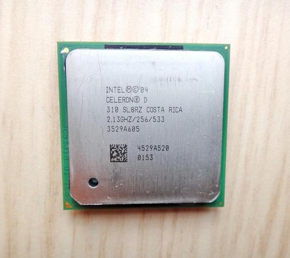 Intel Celeron D310 2,13ghz Sl8rzc Socket 478