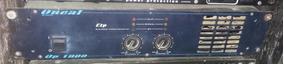 Amplificador Oneal Op 1800 400 Wrms Muito Bom.