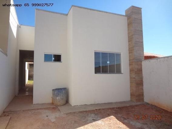 Casa Para Venda Em Cuiabá, Jardim Universitário, 3 Dormitórios, 1 Suíte, 2 Banheiros, 2 Vagas - 619_1-1522106