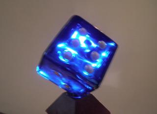 1920 Perfume Botella Coleccion Perfumero Azul Cobalto Dado