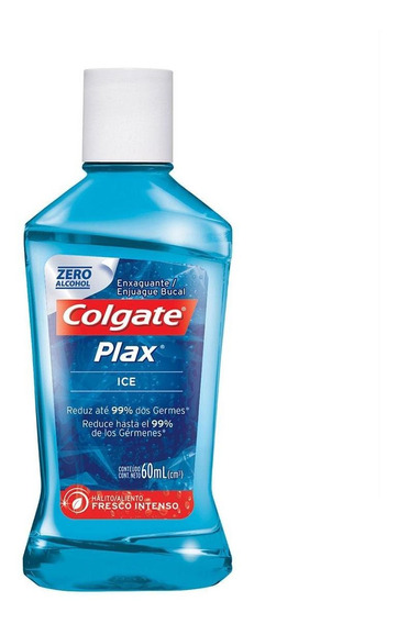 Enxaguante Bucal Colgate Total12 Plax Ice 60ml