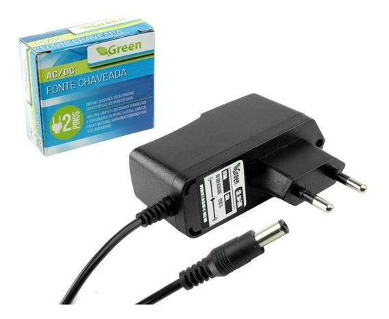 Fonte Chaveada 12v 1a Plug P4 5,5mm 2,1mm Chipsce