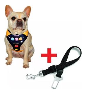Pretal Arnes + Cinturon Seguridad Auto Perros Microcentro