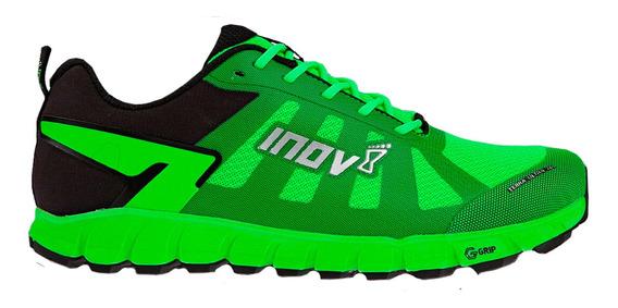 Tenis Unisex Inov8 Verde/negro Montaña Terraultra 260 G-grip