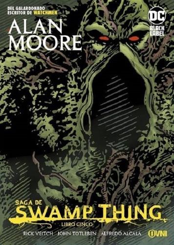 Imagen 1 de 4 de Comic, Swamp Thing Libro Cinco / Alan Moore
