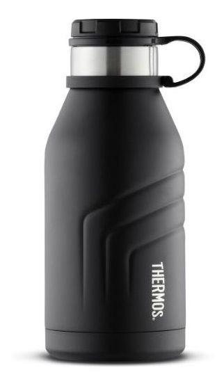 Botella Térmica 940ml Acero Inox Ss Negra -thermos