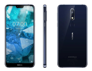 Nokia 7.1 64gb 4gb Ram Android One 4g/lte Telcel