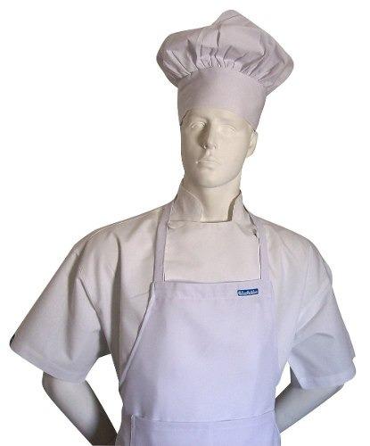 Conjunto Delantal Y Gorra De Cocinero