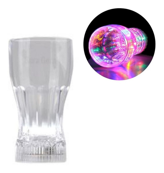 Vaso Luminoso Led Multicolor - Fiesta Bar Antro Rave 320 Ml