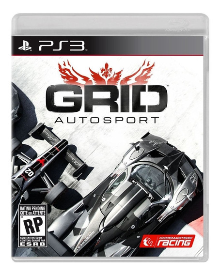 Jogo Grid Autosport Ps3 M. Fisica