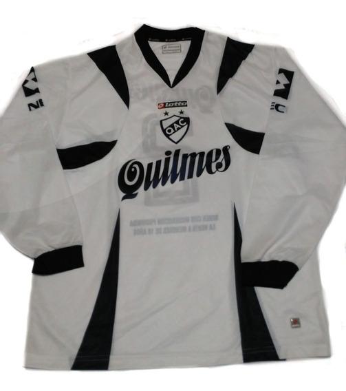 Camiseta De Quilmes Lotto Mangas Largas 2007
