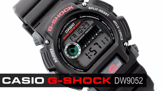 Relógio Digital Casio G-shock Dw-9052-1vdr Original