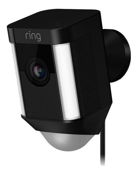 Ring Spotlight Cam Battery Cámara De Videovigilancia Negro