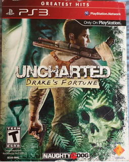 Juego Físico Original Greatest Hits Uncharted Ps3