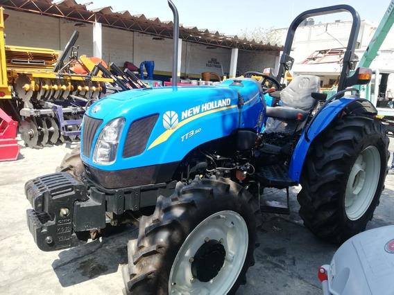 Tractor Agrícola New Holland Tt3 50 4wd Nuevo