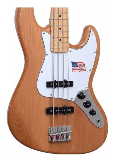 Baixo Sx Jazz Bass American Alder Baixo 4 Cordas Sx Alder