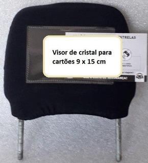 Capinha De Cabeceira De Banco C Visor Cristal 2 Unidades
