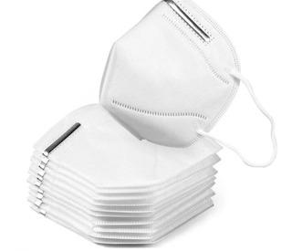 Cubre Bocas N95/respirador Alto Rendimiento 10 Piezas