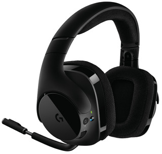 Auriculares Gamer Logitech G533 Inalambricos Surround 7.1