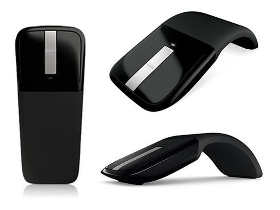 Mouse Arc Touch Microsoft Receptor Usb Rvf-00052 Preto