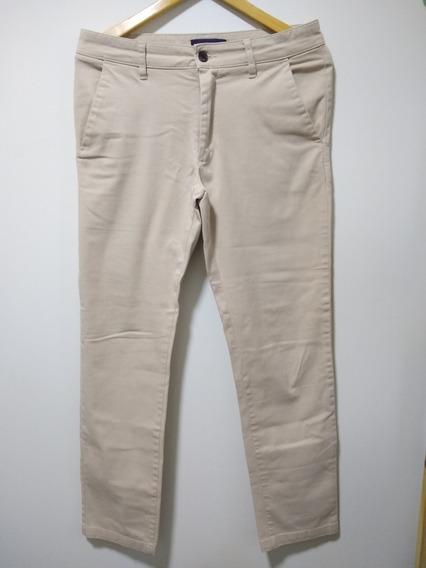 Calça Masculina - Bege - Zara