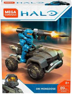 Mega Construx Juego Construcción Halo Mongoose Mattel Full