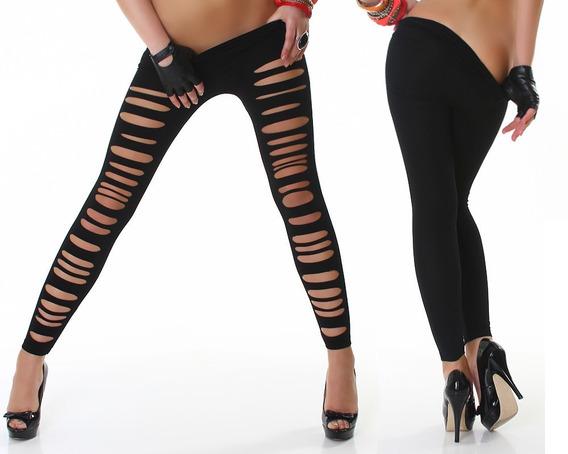 Leggins Razgados De Calidad Pantalones Mujer No Mallones 49