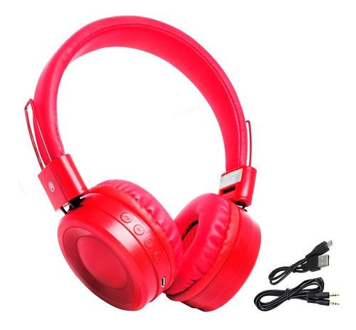 Auriculares Inalambrico Bluetooth Plegables Sd Usb Microfono