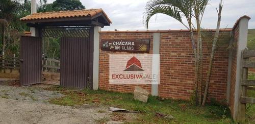Chácara Com 2 Dormitórios À Venda, 2200 M² Por R$ 685.000,00 - Paraibuna - Paraibuna/sp - Ch0014