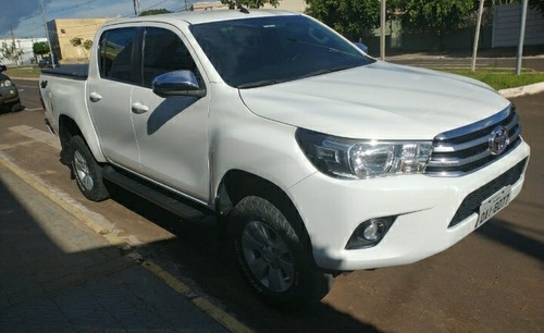 Toyota Hilux 2018 2.8 Tdi Srv Cab. Dupla 4x4 Aut. 4p