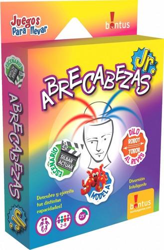 Juego De Mesa Cartas Abrecabezas Bontus 523