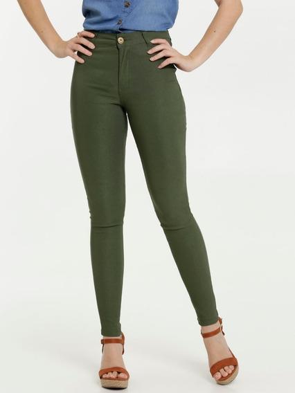 Calça Feminina Empina Bumbum Bengaline Biotipo Jeans Só Hoje