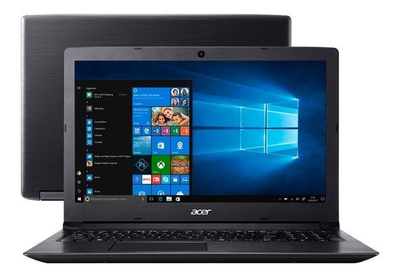 Notebook Acer Aspire 3 Ssd 240gb Intel Core I3 8ªg- 4gb 1tb