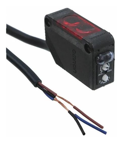 E3z-d81 Omron Sensor Fotoelectrico Difusa Infrared Led 24dc