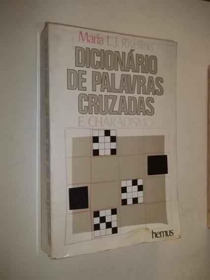 Livro - Dicionário De Palavras Cruzadas - Maria L. J.