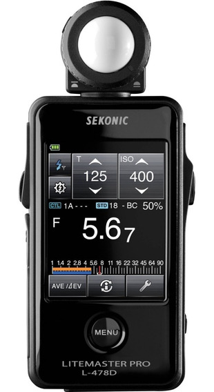 Fotometro Sekonic L-478dr Radio Compatible Pocketwizard