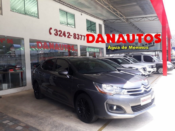 C4 Lounge 1.6 Origine Turbo Automático Flex 2017