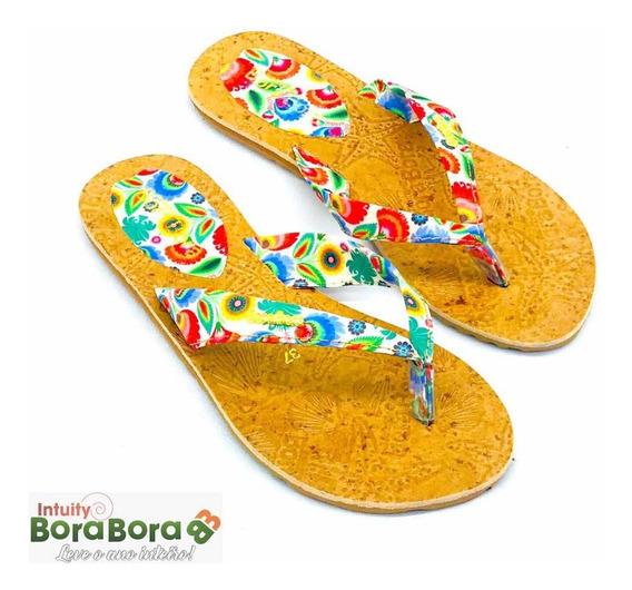 Sandália Feminina Intuity Bora Bora - Swell Color Jardim