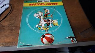 Lucky Luke - Western Circus - Edit. Martins Fontes
