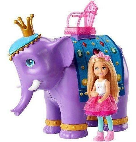 Barbie Chelsea E O Rei Elefante Barbie - Mattel