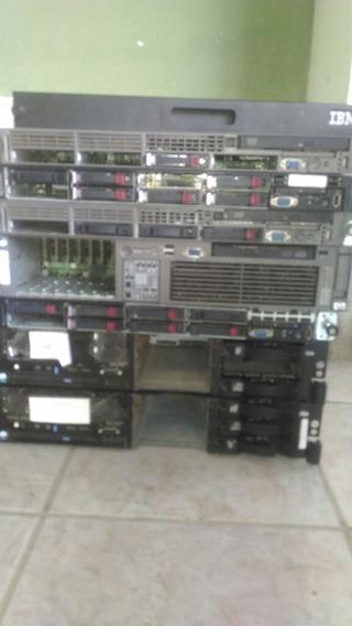 Lote De Servidores Hp Dl360, Ibm, Dell,