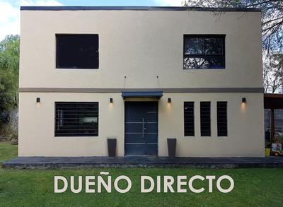 Moderna Casa En Del Viso, Pilar, Dueño Directo, Sin Expensas