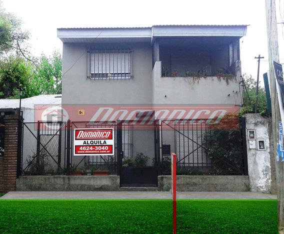 Casa En Alquiler En Castelar