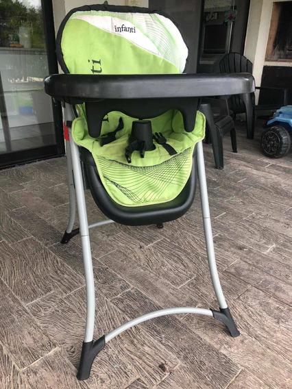Silla Bebe Para Comer Infanti Reclinable