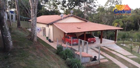Chácara À Venda, 6227 M² Por R$ 520.000,00 - Cocuera - Mogi Das Cruzes/sp - Ch0042