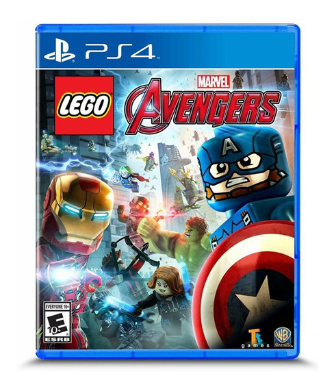 Juego Ps4 Lego Marvels Avengers - G0005802